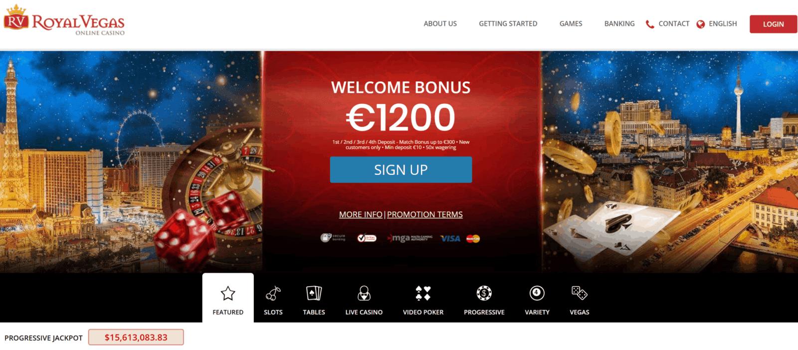 Royla Vegas online casino