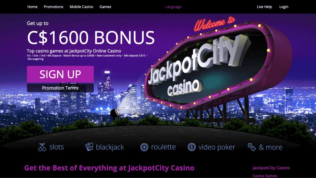 JackpotCity Promotions