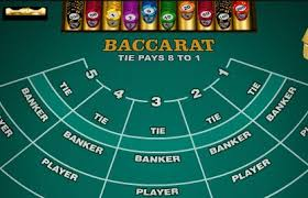Baccarat at online casino
