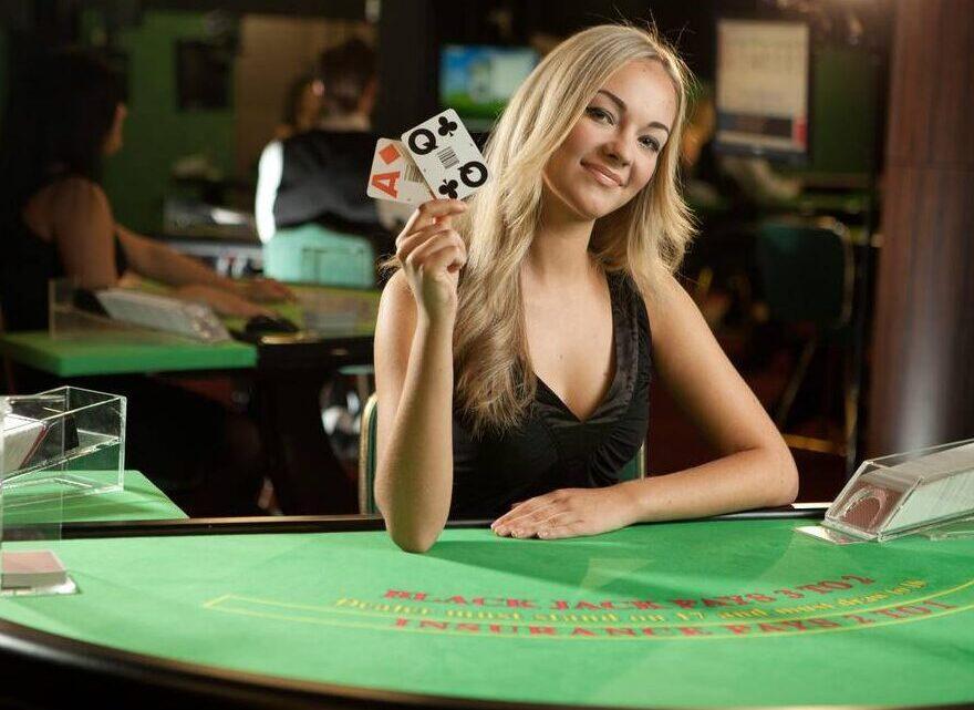 Black Jack Dealer - Zodiac Casino