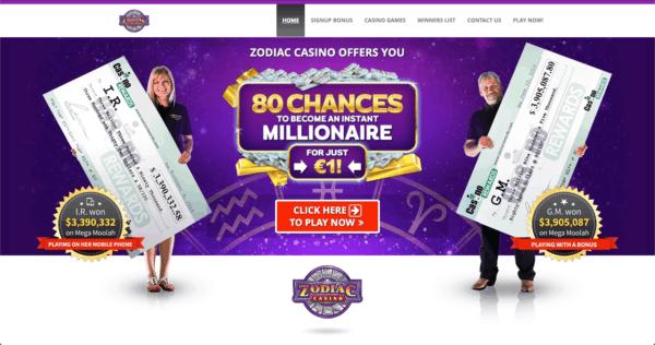 IMG - Zodiac Casino - Lobby