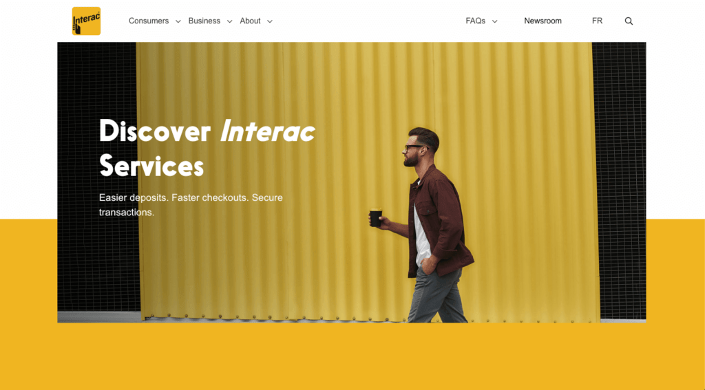 Interac-main-page
