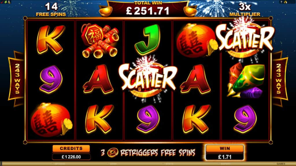 Royal Vegas Online Casino - Lucky Firecracker