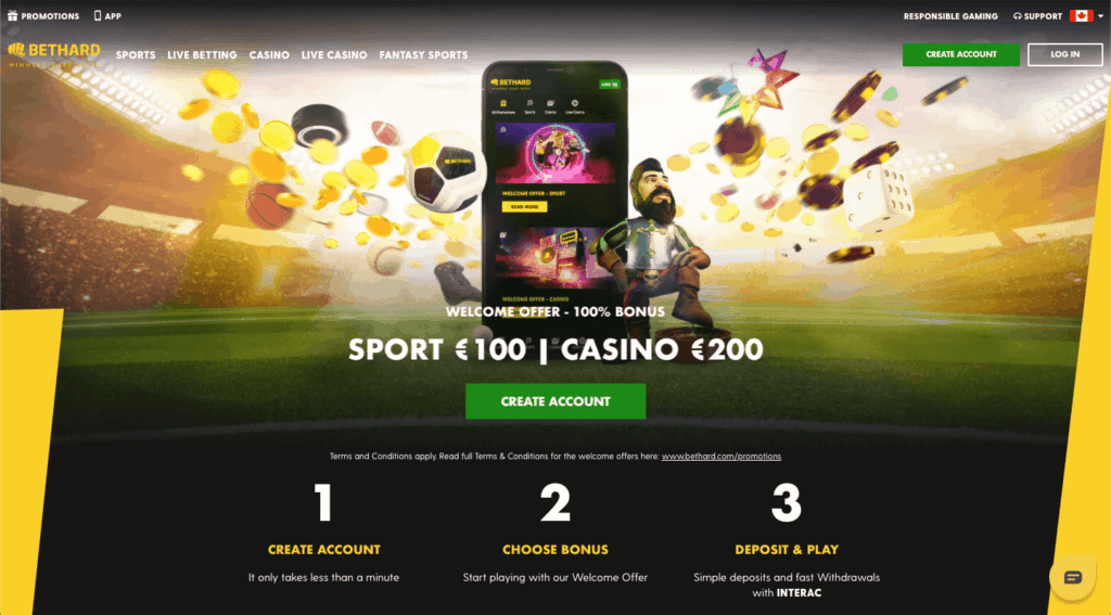 Bethard - Canadian online Casino
