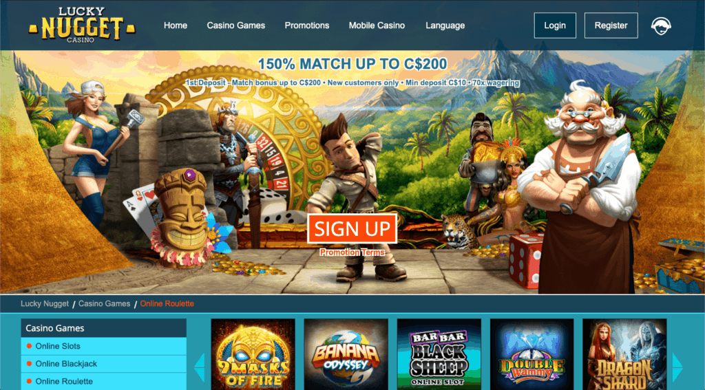IMG - Lucky Nugget - Promotions and Free spins