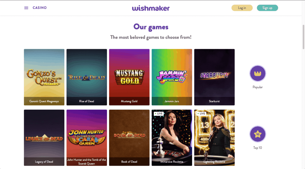 IMG - Wishmaker - Games